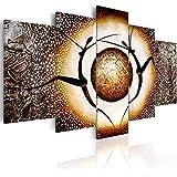 murando Cuadro pintado a mano -100% pintados a mano – fotos directamente del artista - pintura - pinturas de paredes modernas - disenos únicos e irrepetibles – cuadro en lienzo - 5 partes - abstracción - 92655 - 170x110 cm