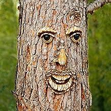 Ambiente Pötschke Gartendeko árbol de pino cara Karl