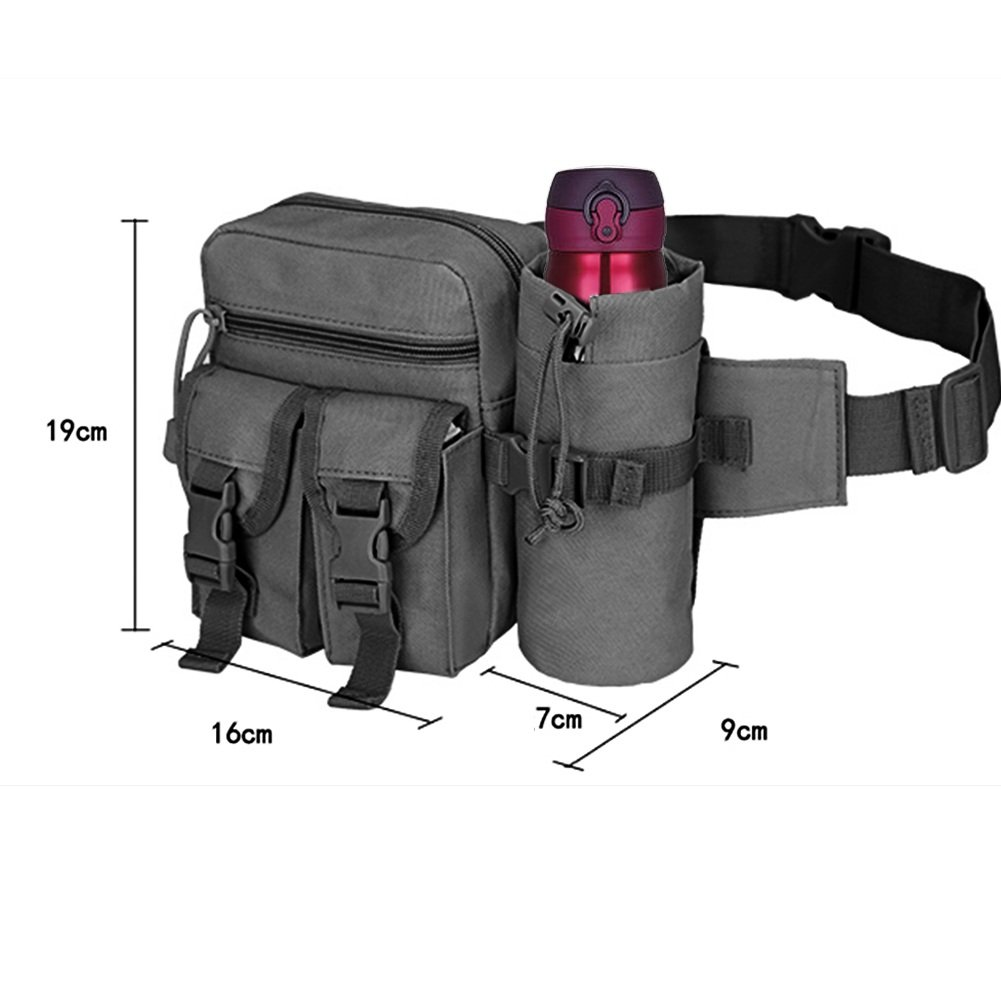 Outdoor Tactical Camping Hiking Bike Waist Fanny Pack Bum Bag Travel Phone Pouch