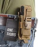 OneTigris Taktische MOLLE Werkzeugtasche Gürtelholster für Klappmesser
