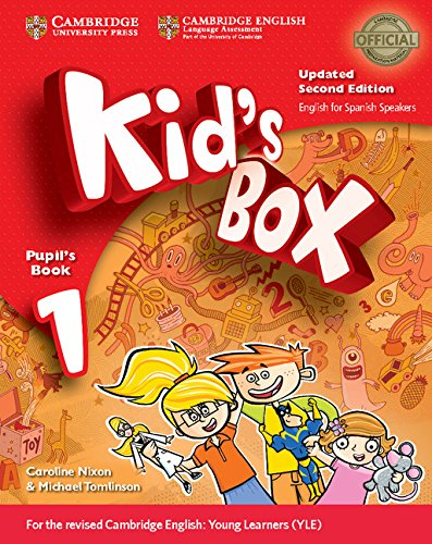Kid's Box Level 1 Pupil's Book with My Home Booklet Updated English for Spanish Speakers Second Edition