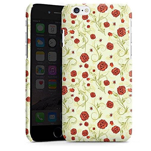 Apple iPhone 4 Housse Étui Silicone Coque Protection Roses Roses Roses Cas Premium brillant