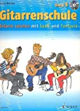Gitarrenschule Band 1 (+CD) - Gitarre spielen mit Spaß und Fantasie - Neufassung + Gitarren-Notenfinder - Dieter Kreidlers neue Gitarrenschule wendet sich vor allem an Kinder und Jugendliche, die in kleinen Lernschritten das Gitarrenspiel lernen möchten. - Noten/sheet music