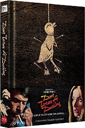 Don't Torture a Duckling - Quäle nie ein Kind zum Scherz - Mediabook  (+ DVD) (+ Bonus-DVD) [Blu-ray] [Limited Collector's Edition] - Dt Cutter