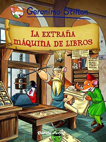 Stilton 8: la extraña maquina de libros (Cómic Geronimo Stilton) por Geronimo Stilton