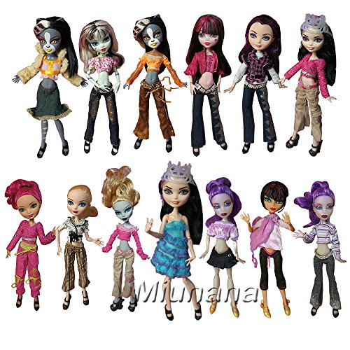dung Clothes Girl Ohne Puppe Outfit Fashion für monster high Doll (Monster High Outfit)