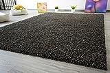 Shaggy Hochflor Teppich Funny Soft Touch Langflor in der Farbe anthrazit GUT Siegel, Größe: 160x230 cm