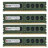 QUMOX 16GB (4x 4GB) DDR3 1600 PC3-12800 PC-12800 (240 PIN) DIMM RAM Desktop-Speicher XMP CL9