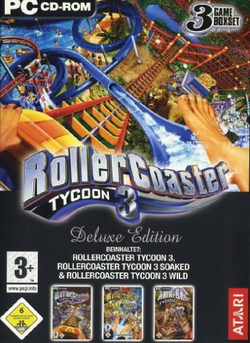 Roller Coaster Tycoon 3 - Deluxe Edition (Spa-roller)