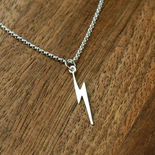 MUANI Blitz-Anhänger-Frauen-Mädchen-Halskette Eleganten Schmuck-Legierung überzogene Ketten-Schmucksache-Dekoration