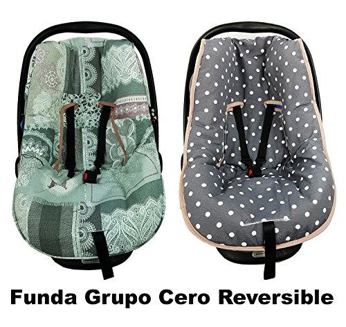 FUNDA GRUPO CERO UNIVERSAL - REVERSIBLE - ENTREDOS GRIS