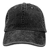 uykjuykj All I Need is Coffee and Mascara Classic Baseball Caps Unisex Adult Cowboy Hats Adjustable Unique Personality Cap Baseballmütze