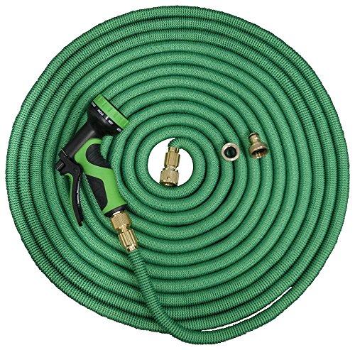 Flexibler Wasserschlauch Gartenschlauch Flexischlauch 30 m Länge Farbe grün