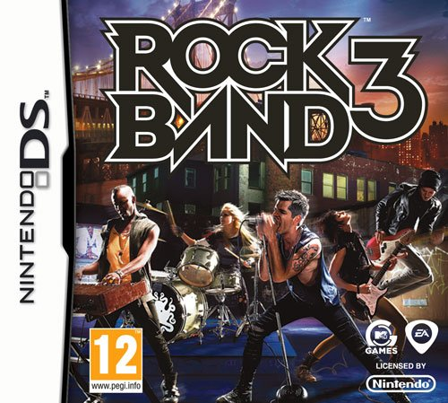 Rock Band 3 - Game Only (Nintendo DS) [Import UK] (Rock 3 Band Ds)