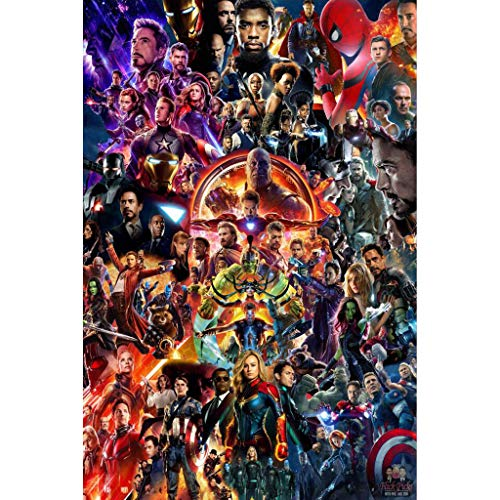 Avengers Marvel Beautiful Unique Puzzle De Madera