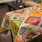 Mantel (lino y algodón nacional–MeMoreCool estilo japonés mejores regalos 100% Material saludable 39x 55pulgadas, algodón, pattern5, 55x79inch