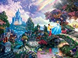 Thomas Kinkade la Disney Dreams Collection : Cendrillon Wishes Upon a Dream-Puzzle