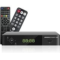 Diprogress decoder DVB-T2 Hevc 10 bit DPT207HD con due telecomandi 2 in 1