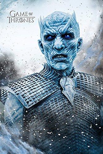 empireposter Game of Thrones-Night King-Fantasy Film Movie Poster-Grösse 61x91,5 cm, Papier, bunt 91.5 x 61 x 0.14 cm Offset-turner