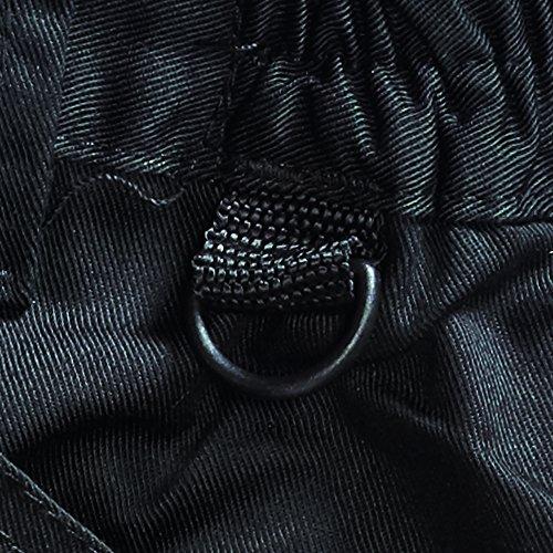 Blackrock - 7640532 - ferro lungo operaio maschile - marina, 32 pollici Nero/Grigio