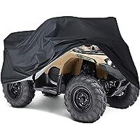NEVERLAND Taglia XXXL Telo Teli Copertura per Moto ATV Tessuto Solido 190T Poliestere