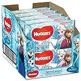 Huggies Édition spéciale Personnages Disney aléatoires Lot de 10 paquets de lingettes bébé Total 10 x 56 lingettes