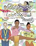 #6: Rio 2016 Gymnastics Final Five Coloring Book for Kids: Simone Biles, Gabby Douglas, Laurie Hernandez, Aly Raisman, Madison Kocian