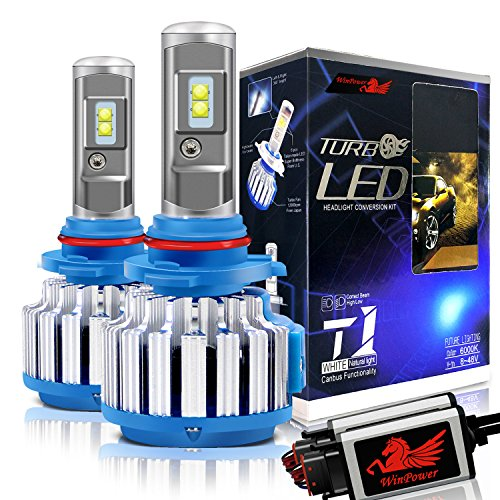 2Pcs 9005 HB3 LED Auto Faro Lampadina 70W 6000K Luce Bianca lampada per veicolo Win Power