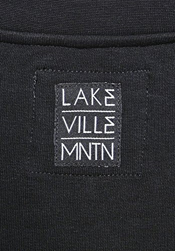 LAKEVILLE MOUNTAIN Herren Milo Sweatshirt black