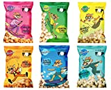 Fitminis Roasted Makhana Healthy Snack (Fox Nuts)- Assorted Flavours (6 Packs x 30gm)