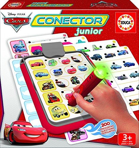 Educa – 16136 – Conector Junior – Jeu Éducatif Électronique – Cars