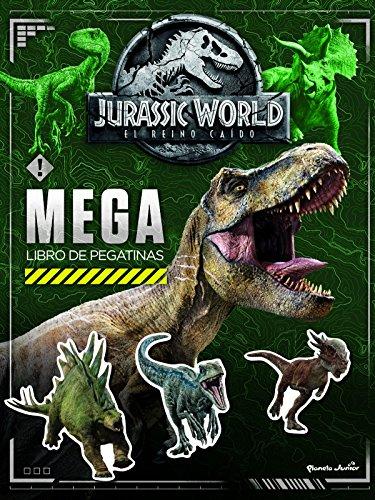 Jurassic World. Megalibro de pegatinas por Universal Studios