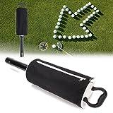 Plat Firm Tragbare Golf Shag Bag 60 Balls Komfortable Hop-Tasche Abholung Tasche Ball Storage
