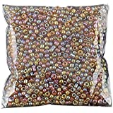 cuentas - SODIAL(R) 1200 piezas 2mm cuentas redondas checas de granos de color cafe de cristal de espaciador de joyeria de DIY hace #1