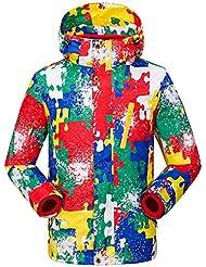 XD-Schoffel deux ensembles des enfants mâles et femelles en manteau d'hiver amovible