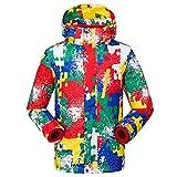 XD-Schoffel deux ensembles des enfants mâles et femelles en manteau d'hiver amovible , red camouflage , s