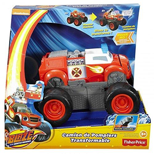 Blaze and the Monster Machines Transformer Feuerwehrwagen DVL75