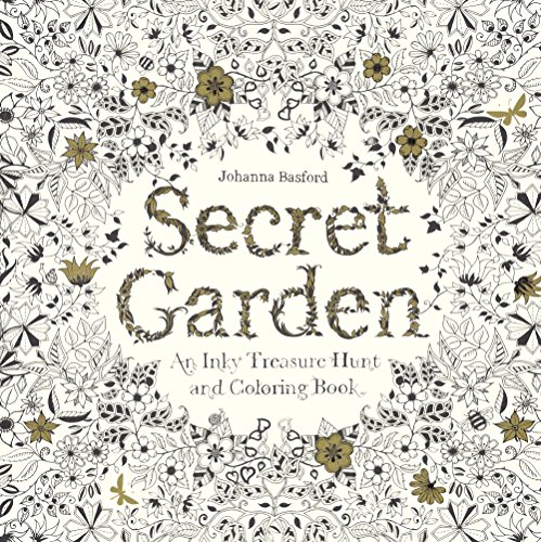 Secret Garden: An Inky Treasure Hunt and Coloring Book por Johanna Basford