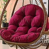 CXHMY Cuscini per sedie per amache, addensanti Cuscini per divani crescenti Cuscino per Sedia da Altalena per Uso Domestico Senza Supporto-d