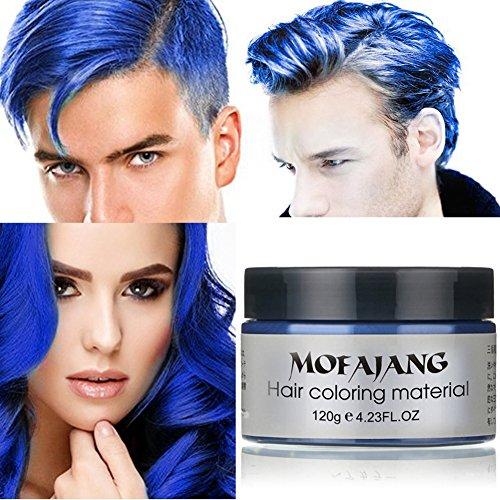 PanDaDa 7 Farben Temporäre Modellierung Natürliche Haarwachs Matte Frisur Pomaden