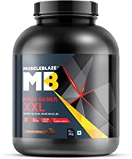 MuscleBlaze Mass Gainer XXL (Chocolate, 2 Kg / 4.4 lb) (Chocolate, 2 Kg / 4.4 lb)