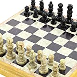 Rajasthan Stone Art Unique Chess Sets and Board Size: 30.48 x 30.48 Cm