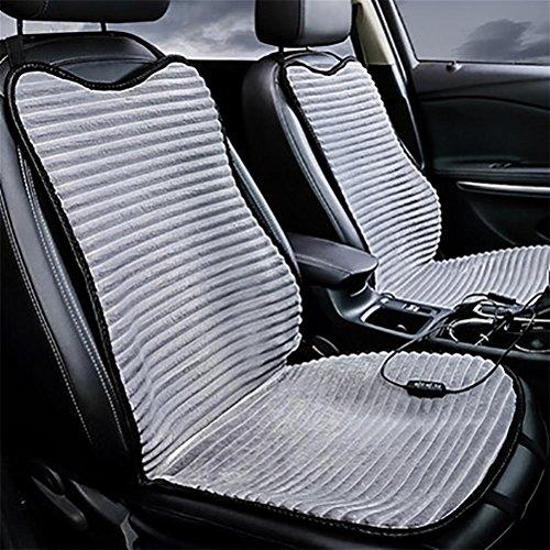 D&f cuscino sedile auto universale, coprisedili auto traspiranti in tessuto per la moda, red