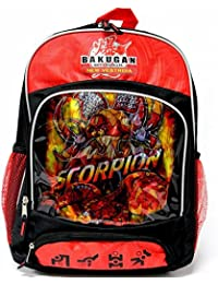 Bakugan Brawlers 16 Inch Backpack - Black By Accessory Innovations