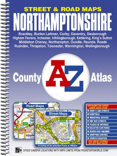 Northamptonshire County Atlas (A-Z County Atlas)