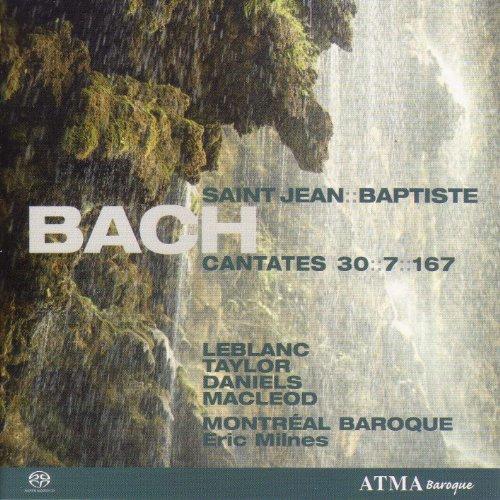 Bach, J.S.: Cantatas, Vol. 1 (Milnes) - Bwv 7, 30, 167 (Saint-Jean Baptiste)