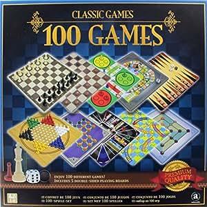 Classic Games– 100 Games – Coffret 100 Jeux de Plateau