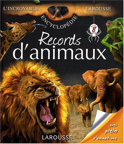 Records d'animaux par Lydwine Morvan