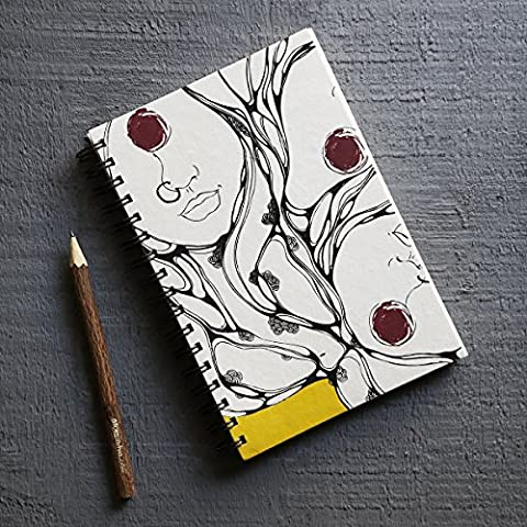 Store Indya, Recouvert vide Journal Journal personnel composition carnet de