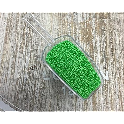 Verde Sprinkles, centinaia e migliaia, decorazioni commestibili